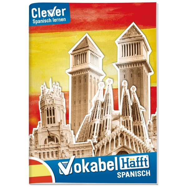 Häfft Verlag Vokabel-Häfft A5 Spanisch