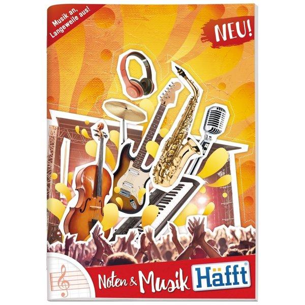 Häfft Verlag Musik-Häfft Noten DIN A4