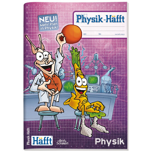 Häfft Verlag Physik-Häfft Premium / A4 / 64 Seiten