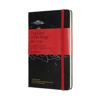 "Moleskine Moleskine Notizbuch ""Herr der Ringe - Schicksalsberg"" Hardcover Large Liniert"