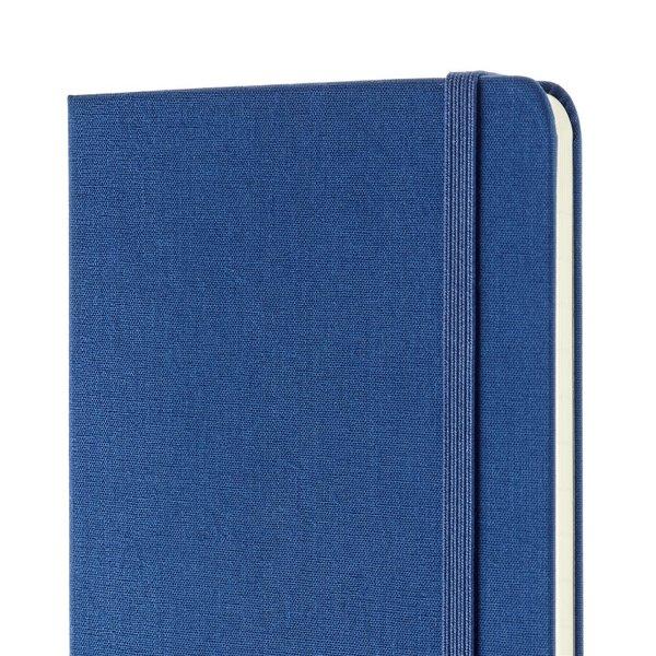 Moleskine Moleskine Notizbuch Two-Go Medium Blanko-Liniert Blau