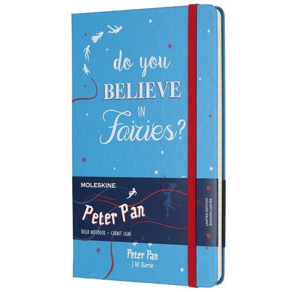 "Moleskine Moleskine Notizbuch ""Peter Pan"" Hardcover Large Hellblau Liniert"