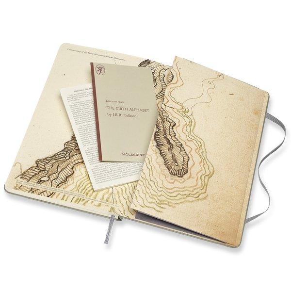 "Moleskine Notizbuch ""Herr der Ringe - Moria"" Hardcover Large Liniert"