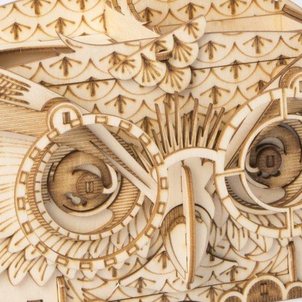 "ROKR ROKR 3D-Holz-Puzzle ""Owl Storage Box"""