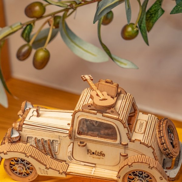"ROKR ROKR 3D-Holz-Puzzle ""Vintage Car"""