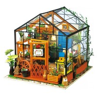 """ROKR ROKR 3D-Holz-Puzzle """"Cathy´s Flower House"""""""