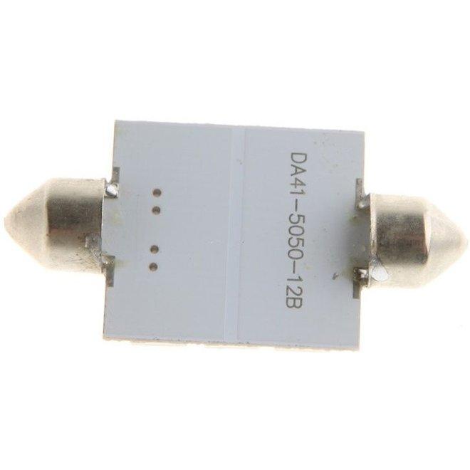 Festoon 12 x 5050 SMD LED Green 41 MM 12V Interieur Autolamp