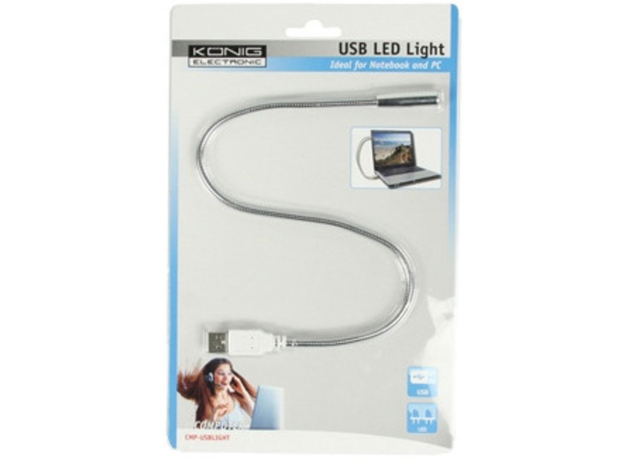 Konig USB LED lamp voor Laptop & PC