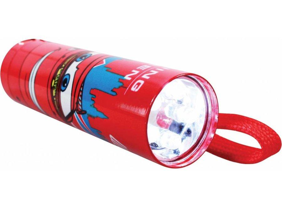 Disney Cars 5 LED's Aluminium Zaklamp