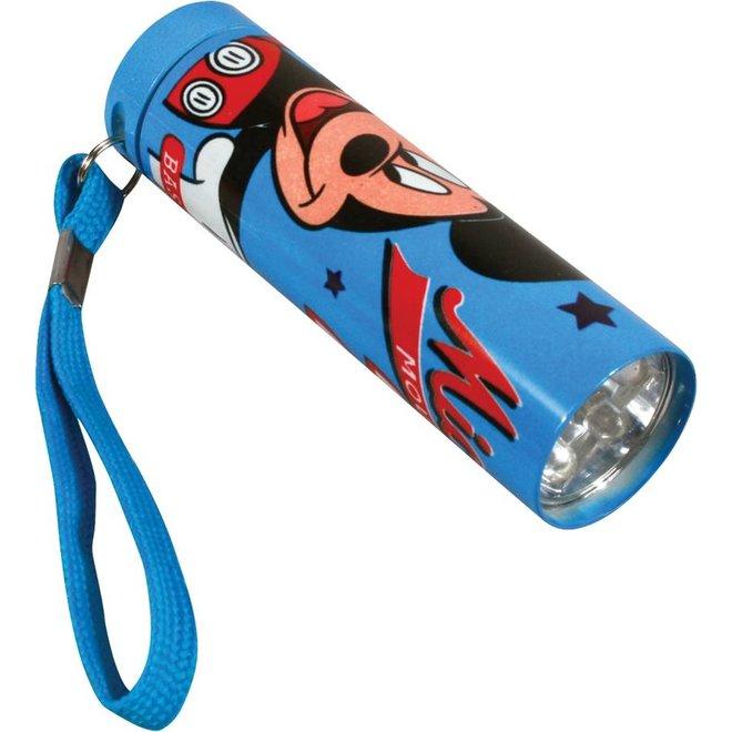 Disney Mickey Mouse 5 LED's Aluminium Zaklamp
