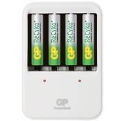GP GP LED Powerbank 420 AA en AAA + 4c Recyko batterijen