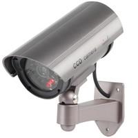 Konig CCTV Dummy Buitencamera met IR LED en Ophangbeugel