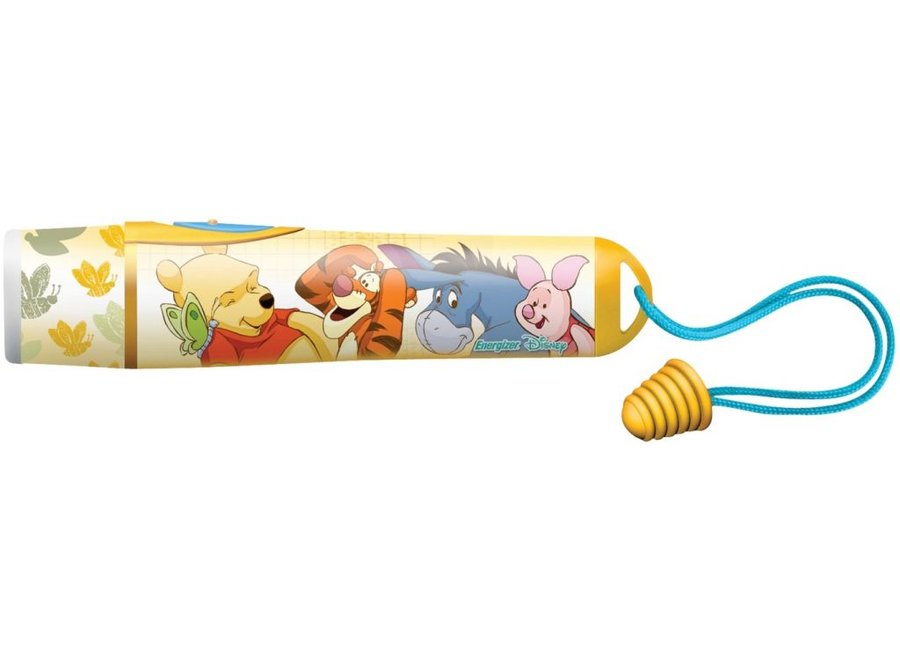 Energizer Disney Winnie The Pooh Yellow Glimmende LED Zaklamp