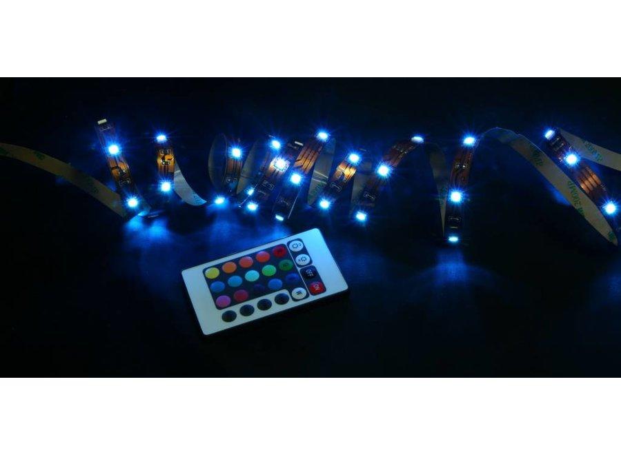 Techlight 150 LED's Strip 5 M Multicolour + Voeding en Afstandsbediening