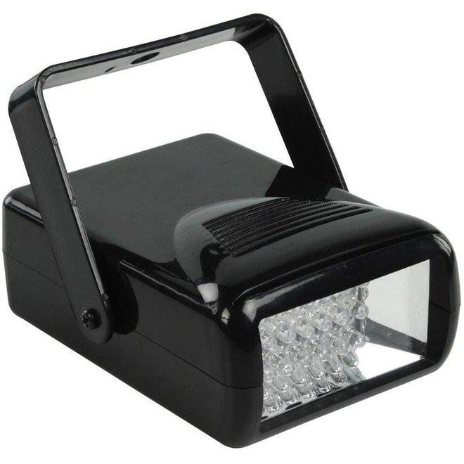 BasicXL 18 LED's Mini Stroboscoop voor feesten