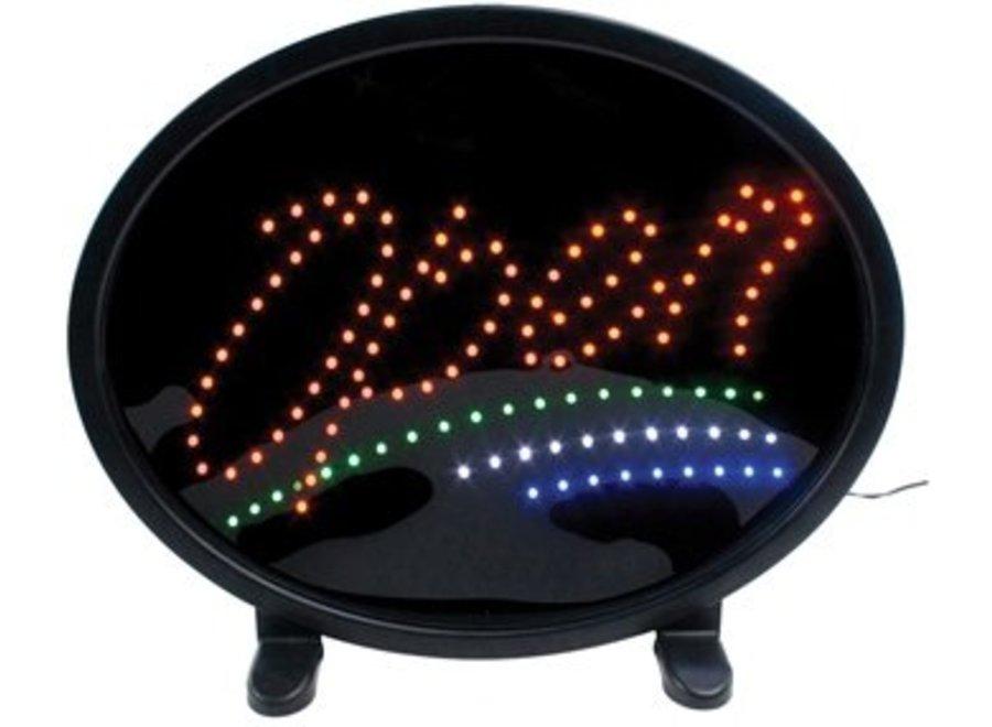 König Krachtige LED OPEN Bord Deluxe 465 x 375 x 64 MM