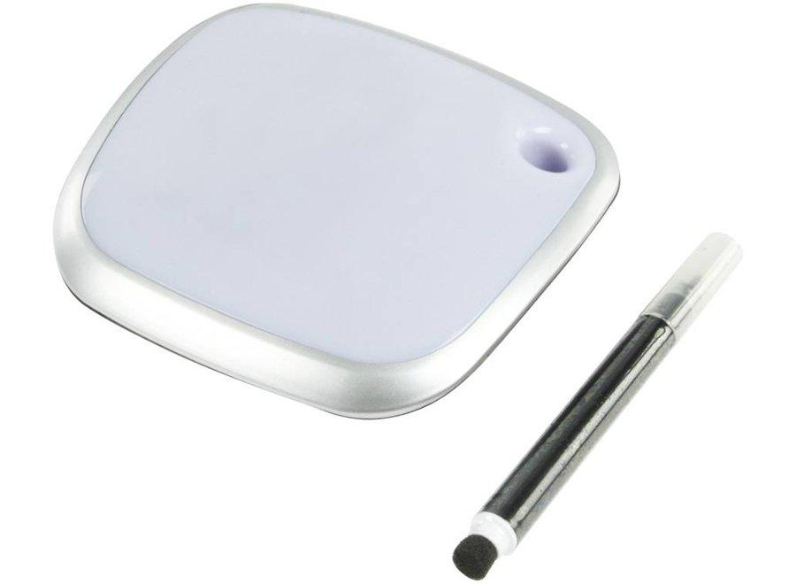BasicXL 3-Poorten USB Hub met LED Memo Pad Oppervlak