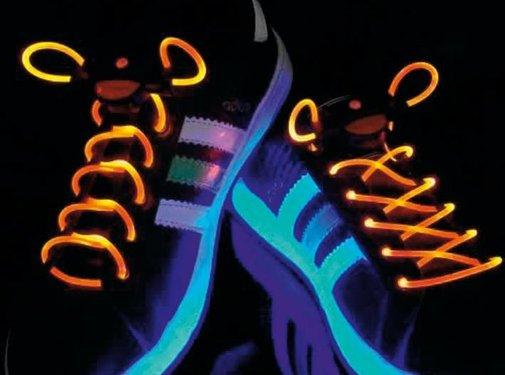 BasicXL BasicXL Orange LED Lichtgevende Schoenveters