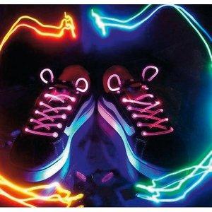 BasicXL BasicXL Pink LED Lichtgevende Schoenveters