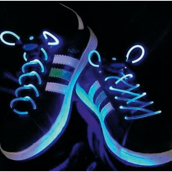 BasicXL Blue LED Lichtgevende Schoenveters