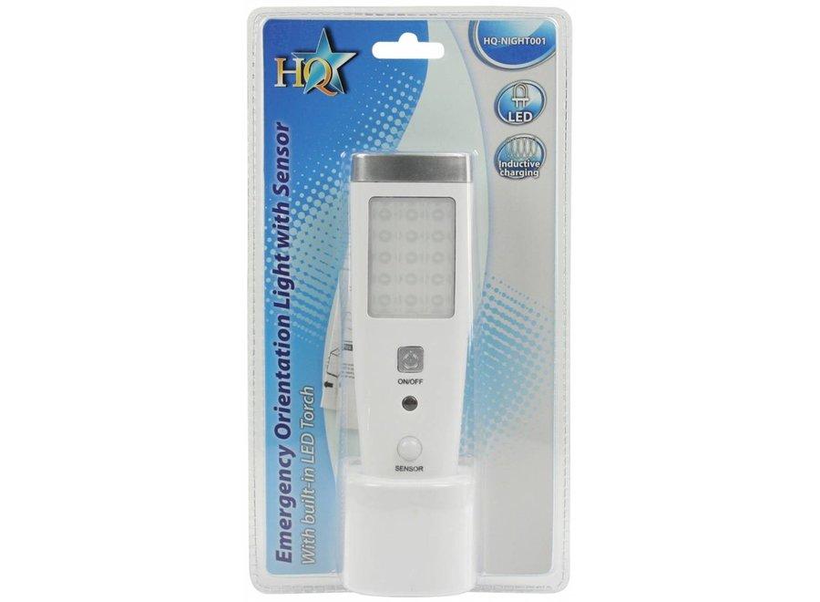HQ 15 + 5 LED's Combinatie Zaklamp