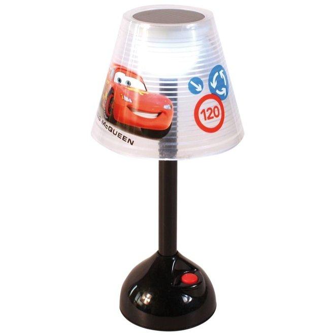 Disney Cars Solar LED Tafellamp op Zonnenergie