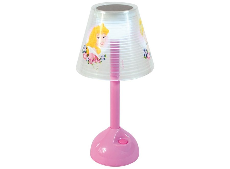 Disney Princess Solar LED Tafellamp op Zonnenergie