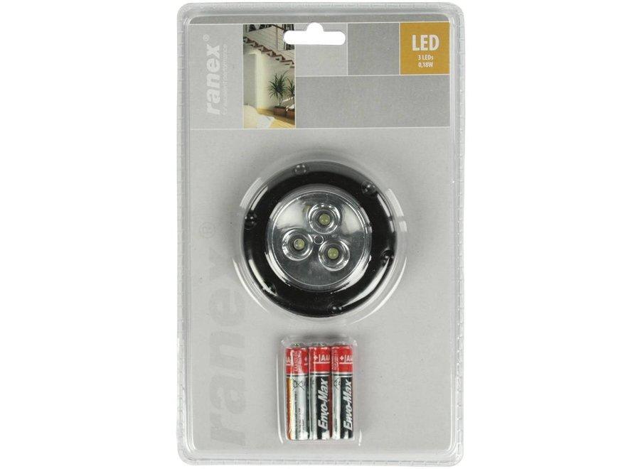 Ranex Florenz Mini Black LED Druklamp