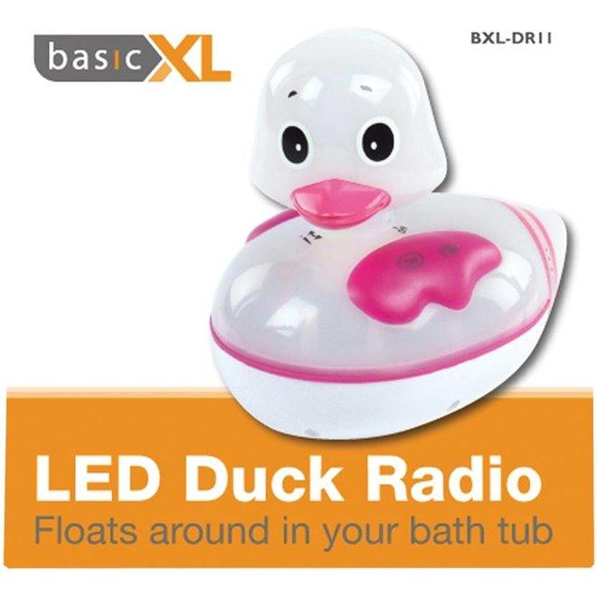 BasicXL Eend Radio met LED Verlichting