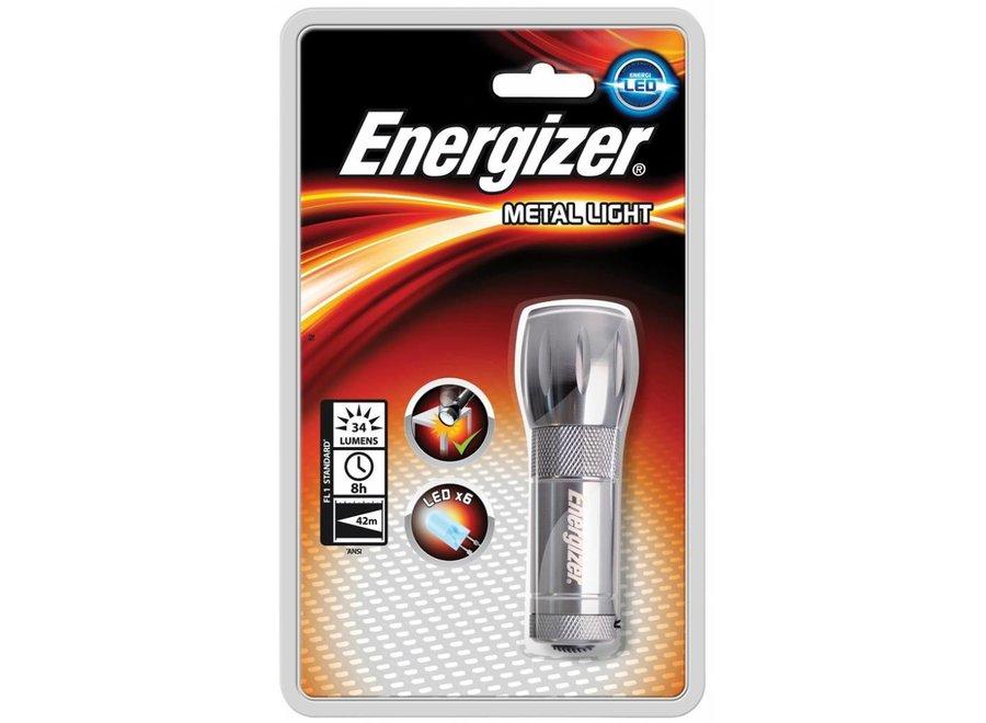 Energizer Metalen Light LED Zaklamp