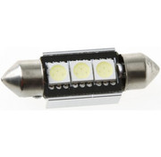 Festoon 3 x 5050 SMD LED Canbus White 36 MM 12V Autolamp