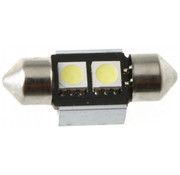 Festoon 2 x 5050 SMD LED Canbus White 31 MM 12V Autolamp