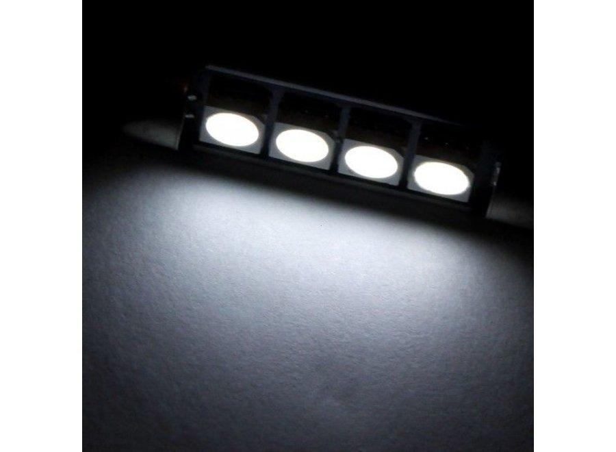 Festoon 4 x 5050 SMD LED Canbus White 42 MM 12V Autolamp