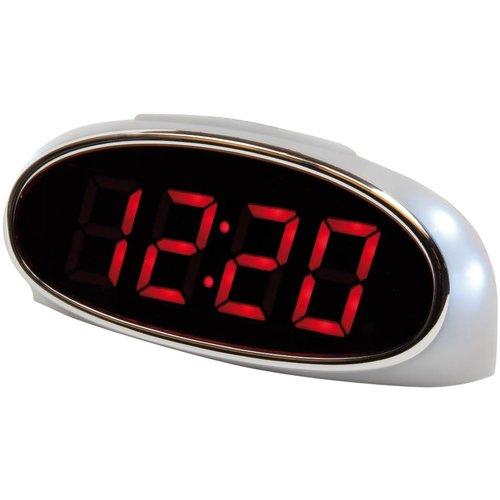 Balance Time Balance Time Red LED Wekker White