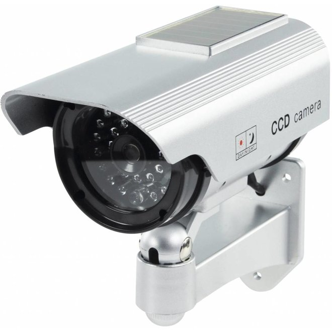 Konig CCTV Dummy Solar Camera in Buitenbehuizing met IR LED