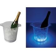 Vellight Vellight Transparante Blue LED Ijsemmer met Geluideffect