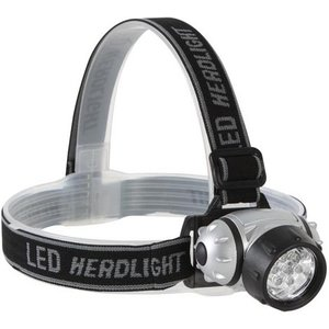 Perel Perel Regelbare White 7 LED's Hoofdlamp