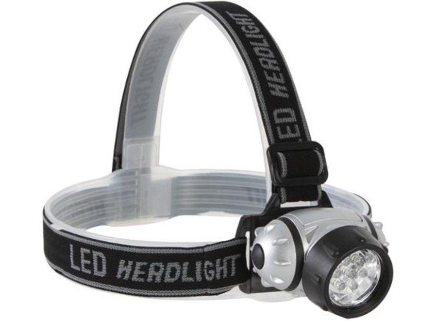 Perel Regelbare White 7 LED's Hoofdlamp
