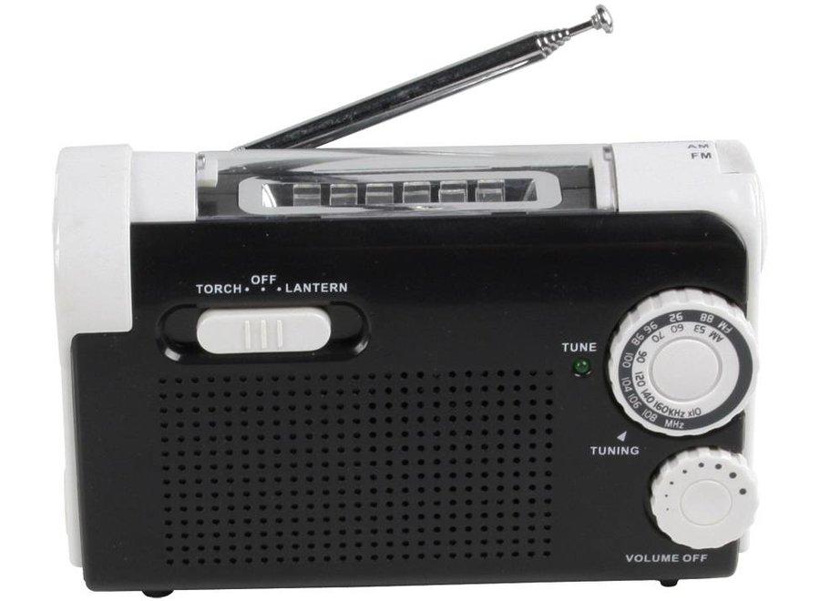 HQ Dynamo zaklamp met Ingebouwde Radio, lader