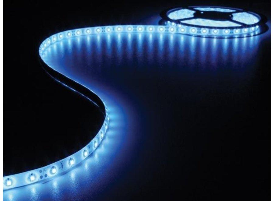 Vellight S01B 300 LED's Strip 5 M en Voeding Blue