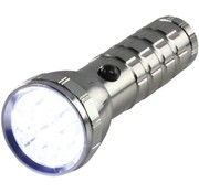HQ HQ Ultra Heldere Waterdichte Aluminium 28 LED's Zaklamp Silver
