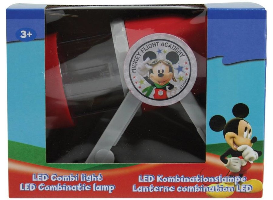 Disney Mickey Mouse LED Combinatielamp