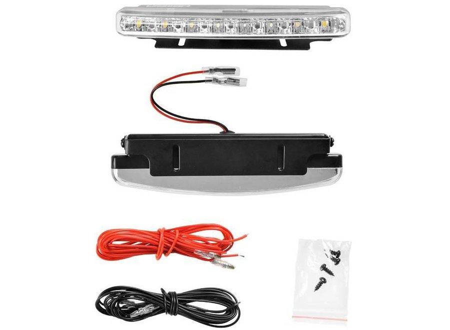 ProPlus 2 x 8 LED's 12V Dagrijverlichting 15,7 CM