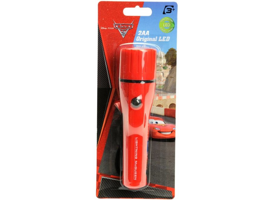 Disney Cars LED Zaklamp Red