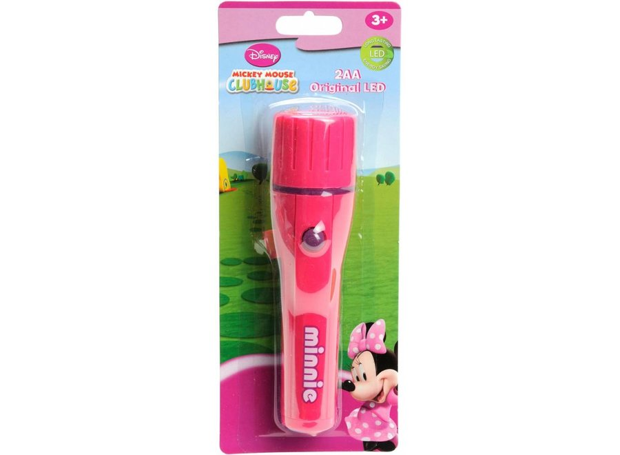 Disney Minnie Mouse LED Zaklamp Pink