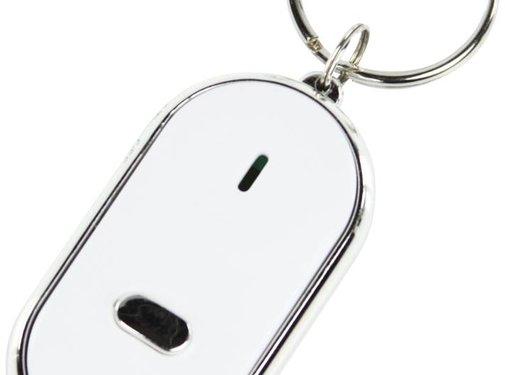 BasicXL Basic XL Fluitende LED Sleutelvinder - Wit