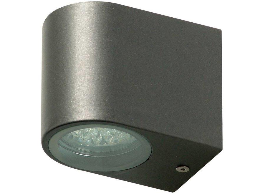 Ranex LED RVS Buiten Muurlamp Bastia Grey