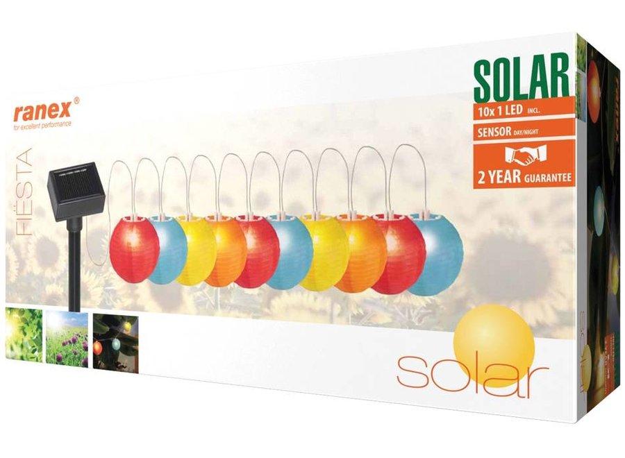 Ranex Fiësta Solar LED Lichtketting Veelkleurig
