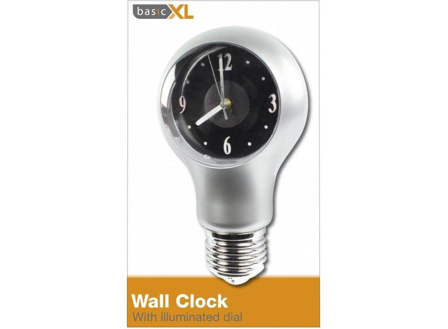 BasicXL Wandklok met LED Wijzerplaat (A-Model)