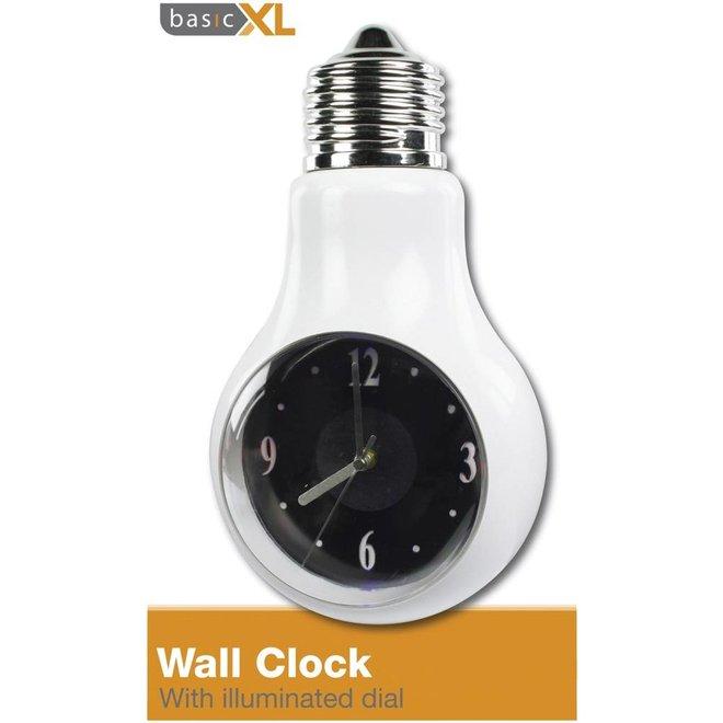 BasicXL Wandklok met LED Wijzerplaat (B-Model)